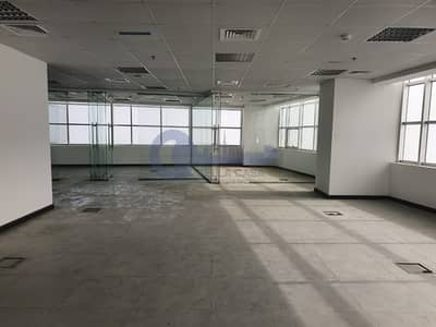 Glass Partitioned | Office Space In Mazaya BB2