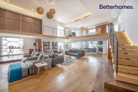 2 Bedroom Apartment for Sale in Jumeirah Beach Residence (JBR), Dubai - Amazing Duplex Loft |High Floor | Panoramic Views