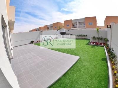 فیلا 3 غرف نوم للايجار في السمحة، أبوظبي - Amazing Garden & Extended Pool I Brand New 3BR Villa I Balcony I Storage I