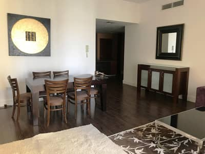 2 Bedroom Apartment for Rent in Jumeirah Beach Residence (JBR), Dubai - Converted 2BR | Furnished with wooden floor