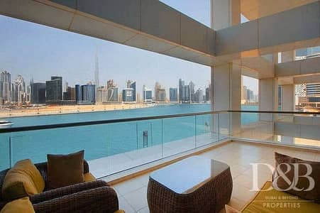3 Bedroom Flat for Sale in Business Bay, Dubai - Burj & Canal Views | Vacant | Immaculate