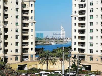 شقة 3 غرف نوم للبيع في نخلة جميرا، دبي - Burj Al Arab View | Built-in Kitchen Goods | Vacant