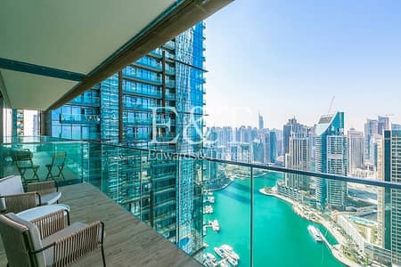 شقة 1 غرفة نوم للايجار في دبي مارينا، دبي - 977 Sqft   Exclusive   No Agents   New Apartment