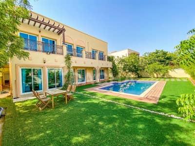 فیلا 5 غرف نوم للبيع في مثلث قرية الجميرا (JVT)، دبي - UNIQUE VILLA! / Huge Plot / Private Pool
