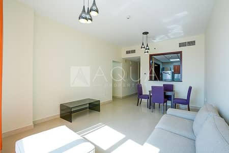 2 Bedroom Flat for Rent in Jumeirah Lake Towers (JLT), Dubai - Furnished | MIiddle Floor | No Balcony