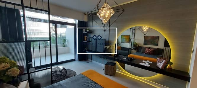 Studio for Sale in Jumeirah Village Circle (JVC), Dubai - High Floor - Pool View - Smart Investment