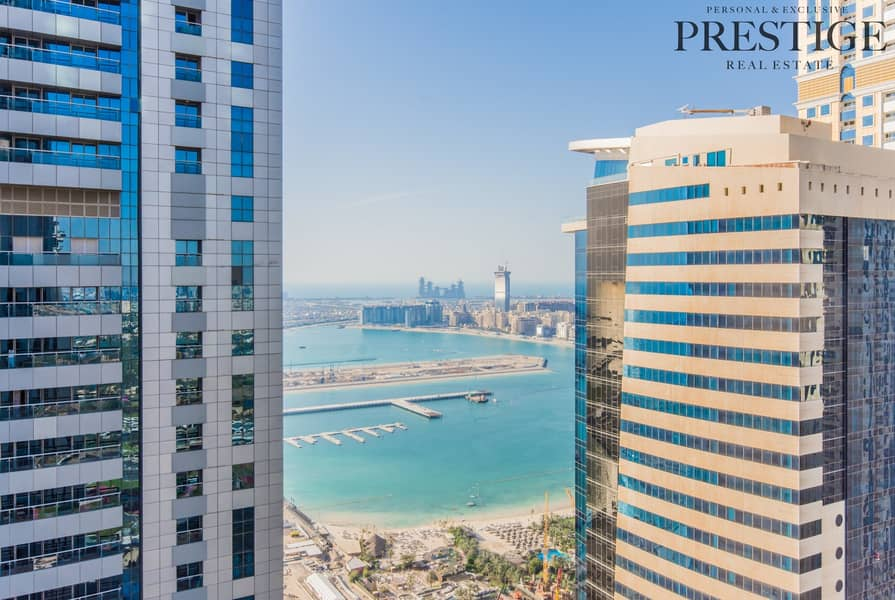 01 Type - 2 bed | Torch Tower | Sea View  Marina