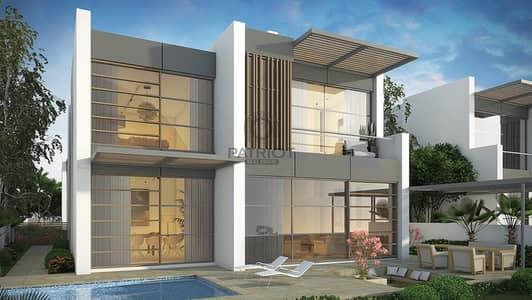 فیلا 3 غرف نوم للبيع في أكويا أكسجين، دبي - Fully Furnished Villa  Park & Golf Views Gated Community