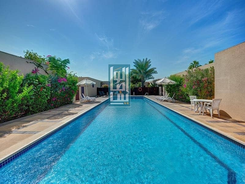 Lovely 3 Bedroom Villa With Garden| Shared Pool & Garden