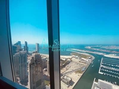 3 Bedroom Flat for Sale in Dubai Marina, Dubai - Cayan Tower Full Sea View Duplex 3+Maids