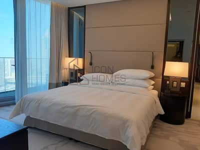 شقة 3 غرف نوم للايجار في وسط مدينة دبي، دبي - Luxurious 3br | Fully Furnished| High Floor |