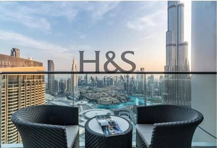 شقة 2 غرفة نوم للبيع في وسط مدينة دبي، دبي - Investors Deal I Luxurious 2 Beds I Fountain View