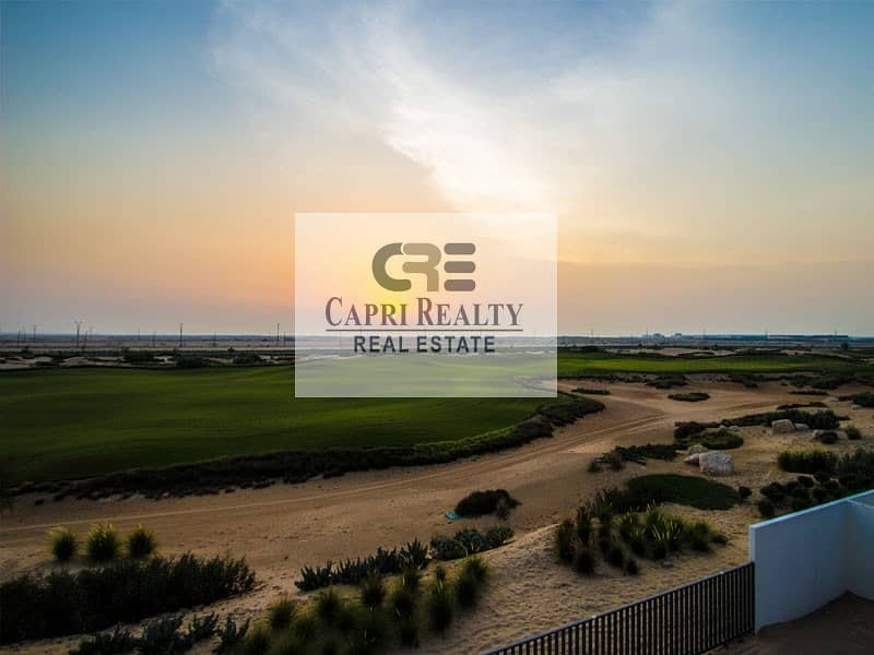 2 Golf course independent villa|EMAAR|Metro 10mins