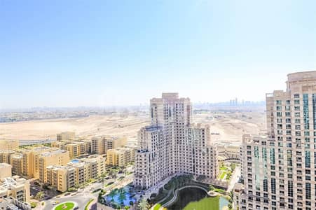 شقة 1 غرفة نوم للايجار في ذا فيوز، دبي - High Floors/2Bathrooms/Lakes Facing