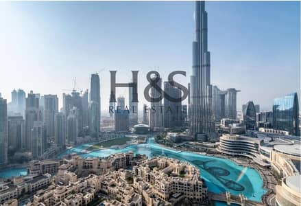 2 Bedroom Flat for Sale in Downtown Dubai, Dubai - Resale I Luxury Living Apt I Full Burj Khalifa View