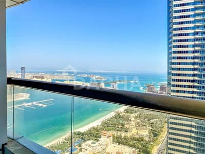 4 Bedroom Flat for Rent in Dubai Marina, Dubai - Multiple balconiesmaids 4 bed