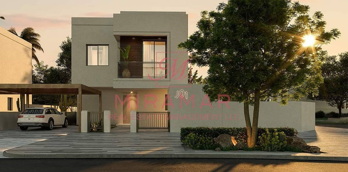 1 BEST INVESTMENT!!! 3B+MAIDS LARGE VILLA!! SINGLE ROW! NOYA PROJECT!