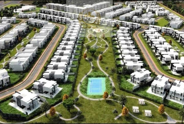 2 Green Nature View of Villa's for Sale inside community Dubai