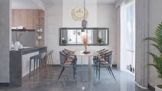 شقة في الممشى مويلح 1 غرف 584000 درهم - 5010631