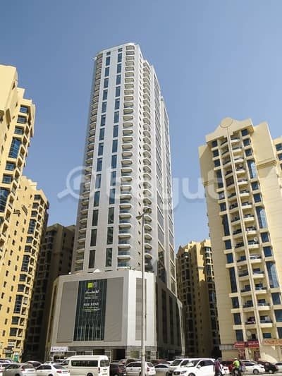 2 Bedroom Flat for Rent in Ajman Downtown, Ajman - Al Khour C with AC Free/Parking Free/one month Free