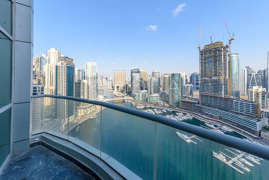 High Floor | Full Marina View | Unfurnished