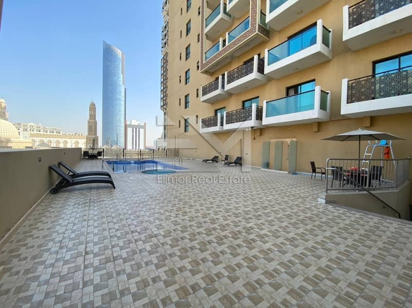 16 Spacious 2BR with Palazzo Versace view | Mid floor