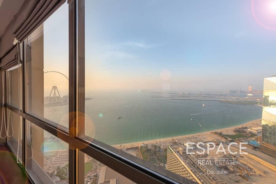 Marina and Sea View | Rare Layout | Vacant On Transfer