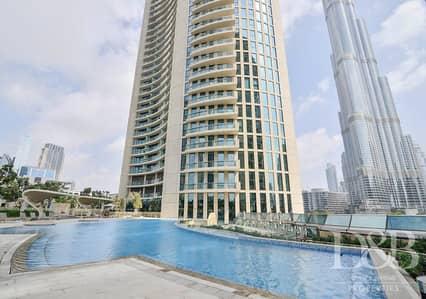 شقة 4 غرف نوم للبيع في وسط مدينة دبي، دبي - Massive Terrace | Burj Khalifa View | Ready Duplex