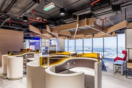 مکتب  للايجار في جبل علي، دبي - SERVICED OFFICE ! MONTHLY PAYMENT OR YEARLY PAYMENT