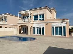 فیلا في فلل نخيل قرية جميرا الدائرية 4 غرف 4500000 درهم - 5011106