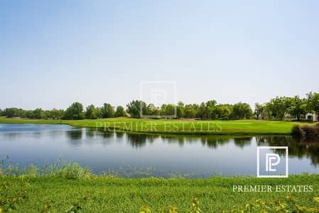 Building for Sale in Jumeirah Golf Estate, Dubai - Golf course full building ready
