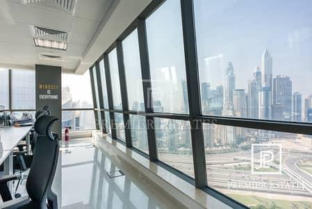 Floor for Sale in Jumeirah Lake Towers (JLT), Dubai - Rented|Full Floor|Good Returns|Penthouse Level
