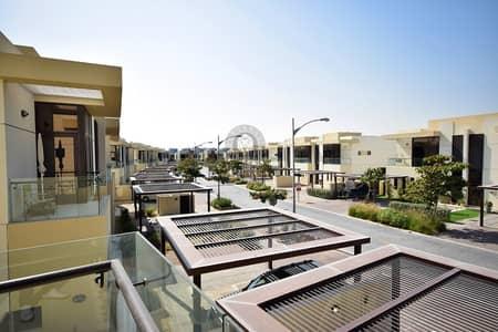 3 Bedroom Villa for Sale in DAMAC Hills (Akoya by DAMAC), Dubai - THL Single Row   3 BED+MAID  Silver Springs
