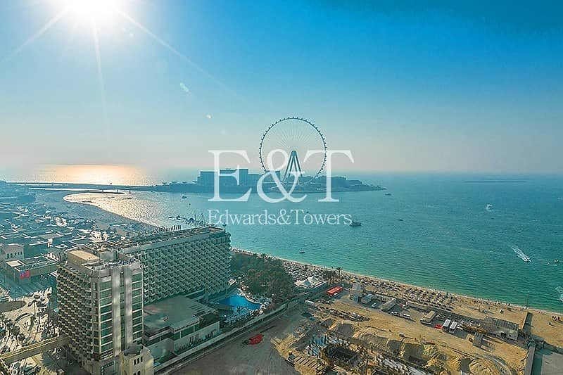 1 Full Sea View | High Floor | Partly Furnished