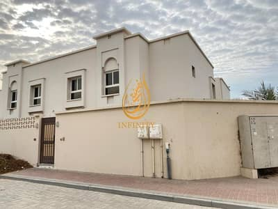 4 Bedroom Villa for Rent in Barashi, Sharjah - Spacious Four Bedrooms Corner Villa with Covered Parking
