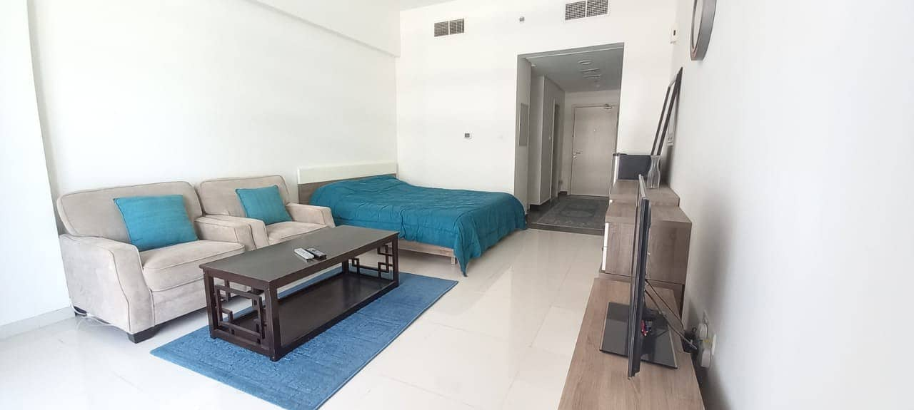 15 Fully furnished studio ready in Golf Horizon Damac Hills
