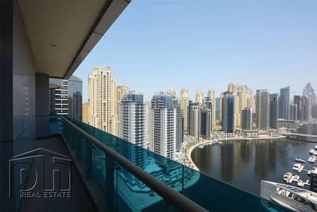 شقة 1 غرفة نوم للايجار في دبي مارينا، دبي - Marina View | Furnished | 1BR | Chiller Free
