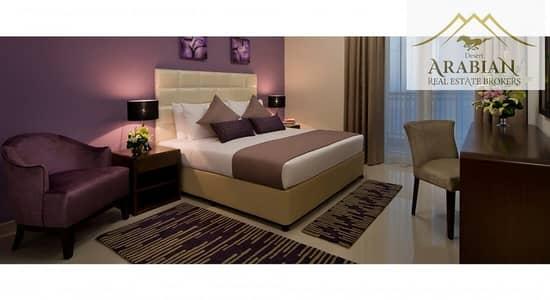 شقة 1 غرفة نوم للايجار في داون تاون جبل علي، دبي - Fully Furnished 1 BHK  Next To Metro