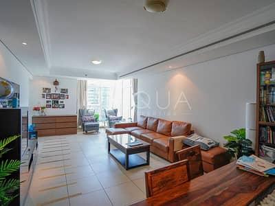 2 Bedroom Apartment for Rent in Jumeirah Lake Towers (JLT), Dubai - Full Lake View   Spacious Unit   Maid's Room