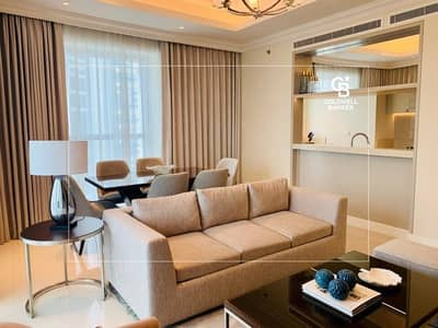 2 Bedroom Hotel Apartment for Sale in Downtown Dubai, Dubai - EXCLUSIVE 2br at Address Fountain views for sale with full view