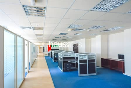 Office for Rent in Al Quoz, Dubai - Great Design | Partitioned | Metro Nearby | SZR