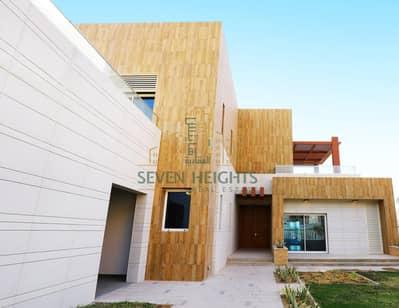 فیلا 7 غرف نوم للبيع في مارينا، أبوظبي - Prime Sea View Position | Private Marina & the Ultimate In Luxury Living