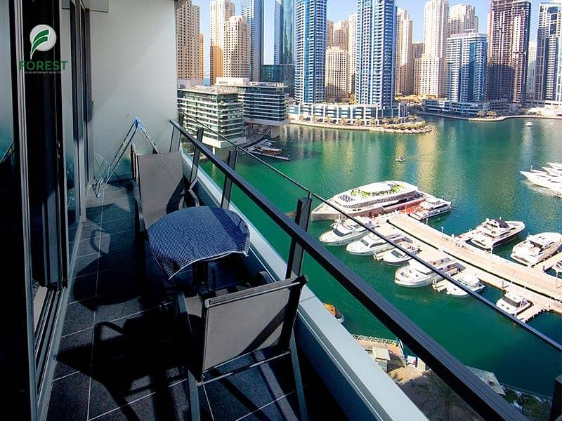 2 Best Deal   Huge 1BR Apt   Marina View  Well Maintained