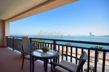 1 Bedroom Apartment for Rent in Palm Jumeirah, Dubai - Full Sea View | 1BR Anantara