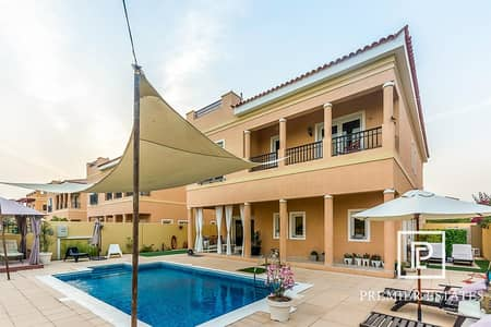 5 Bedroom Villa for Rent in The Villa, Dubai - Exclusive A1 | Well Maintained | 5 Bedroom with Pool