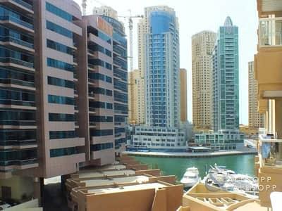 فلیٹ 1 غرفة نوم للايجار في دبي مارينا، دبي - Furnished | Chiller Free | Near the Metro
