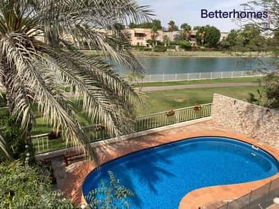 3 Bedroom Villa for Rent in The Springs, Dubai - Type 1E | Private Pool | Lake View | Upgraded
