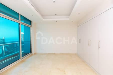 3 Bedroom Apartment for Rent in Dubai Marina, Dubai - Sea & Marina View / Maid's Rm / Big Layout