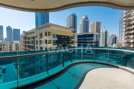 2 Bedroom Flat for Rent in Dubai Marina, Dubai - Rd View / Well Maintained / Big Layout