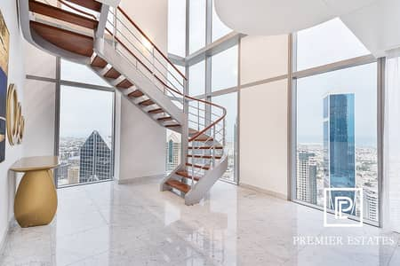 فلیٹ 3 غرف نوم للبيع في مركز دبي المالي العالمي، دبي - Exclusive | Fully Furnished| 3 Bedroom Duplex Apt